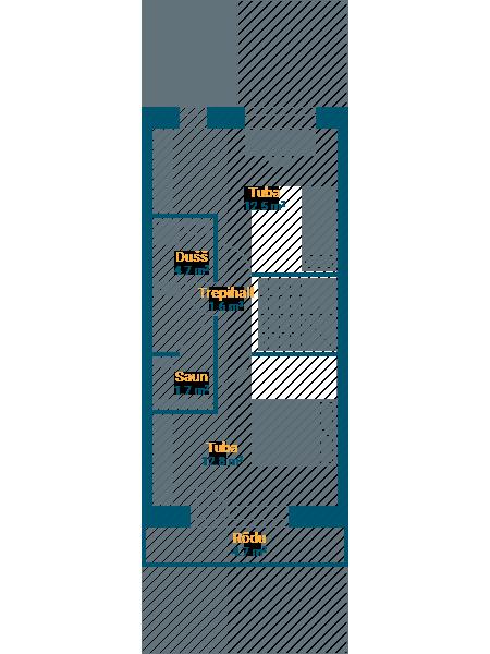 Korter 2, II korrus