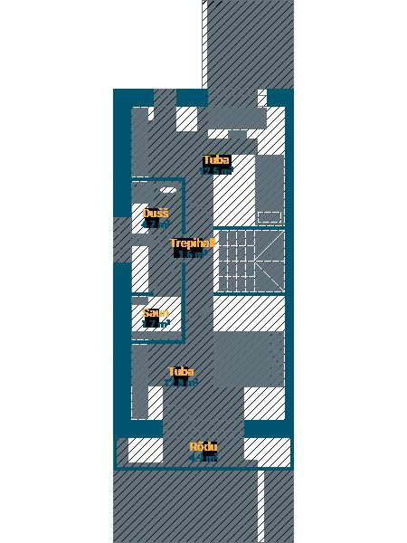 Korter 11, II korrus